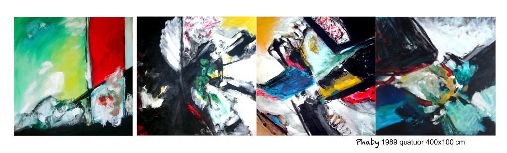 PHABY quatuor 400x100 cm